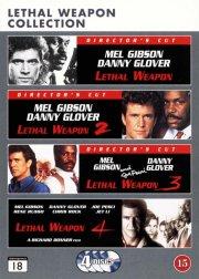 dødbringende våben boks / lethal weapon box 1-4 - DVD