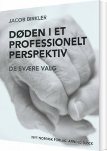 døden i et professionelt perspektiv - bog