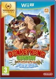 donkey kong country returns - tropical freeze (selects) - wii u