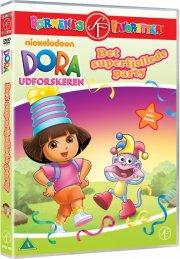 dora the explorer / dora udforskeren - det super fjollede party - DVD