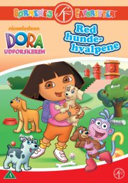 dora the explorer / dora udforskeren - red hundehvalpene - DVD