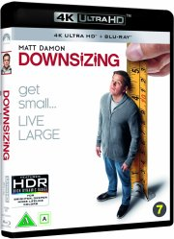 downsizing - 2017 - matt damon - 4k Ultra HD Blu-Ray