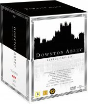 downton abbey box - sæson 1-6 + 5 specials - DVD
