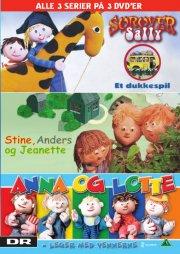 sørøver sally // stine, anders og jeanette // anna og lotte - leger med vennerne - DVD