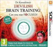 dr kawashima?s devilish brain training: can you stay focused? - nintendo 3ds