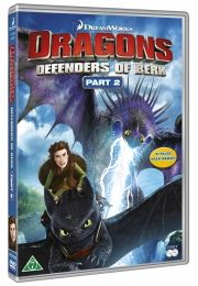 dragons: riders of berk / dragerytterne fra bersærkø - sæson 2 vol. 2 - DVD