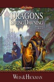 dragonlance krøniker #3: dragons of spring dawning - bog