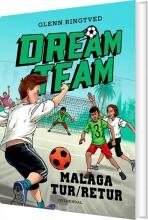 dreamteam 5 - malaga tur/retur - bog