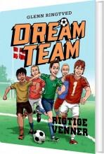 dreamteam 9 - rigtige venner - bog
