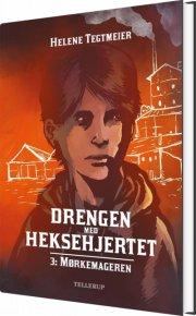 drengen med heksehjertet #3: mørkemageren - bog