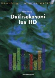 driftsøkonomi for hd - bog