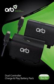 xbox one orb controller batterier - oplad og spil - 2 stk. - Konsoller Og Tilbehør