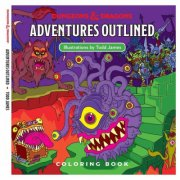 dungeons and dragons malebog - adventures outlined - d&d - Kreativitet