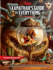 dungeons and dragons - xanathar's guide to everything - spil - Brætspil
