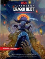 dungeons and dragons - waterdeep dragon heist book - d&d - engelsk - Brætspil