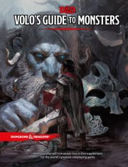 dungeons and dragons 5 - volo´s guide to monsters - d&d - engelsk - Brætspil