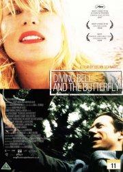 dykkerklokken og sommerfuglen / diving bell and the butterfly - DVD
