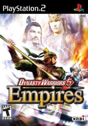 dynasty warriors 5: empires - PS2
