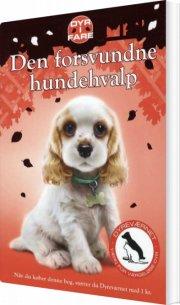 dyr i fare: den forsvundne hundehvalp - bog