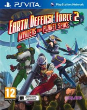 earth defense force 2: invaders from planet space - ps vita