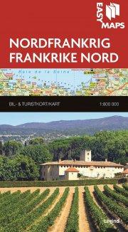 easy maps - nordfrankrig - bog