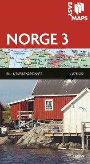 easy maps - norge delkort 3 - bog