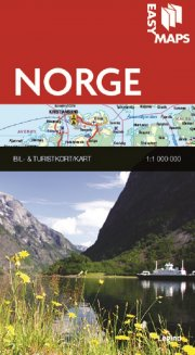 easy maps - norge - bog