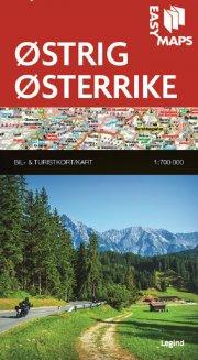 easy maps - østrig - bog