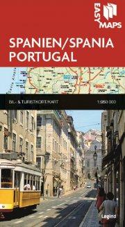 easy maps - spanien og portugal - bog