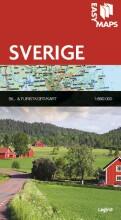 easy maps - sverige - bog