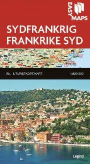 easy maps - sydfrankrig - bog