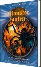monsterjagten 11 - edderkoppekongen arachnid - bog