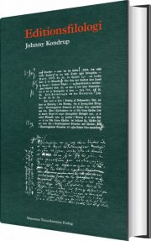 editionsfilologi - bog