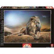 educa puslespil med 1000 brikker - løve - Brætspil