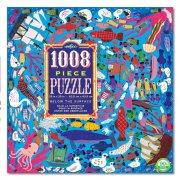 eeboo puslespil - 1008 brikker - havet - Brætspil