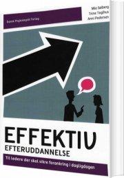 effektiv efteruddannelse - bog