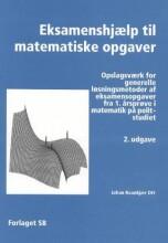 eksamenshjælp til matematiske opgaver - bog