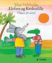 elefant og krokodille - bog