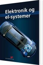 elektronik og el-systemer - bog