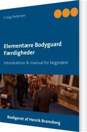 elementære bodyguard færdigheder - bog