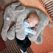 stor elefant pude - Babyudstyr