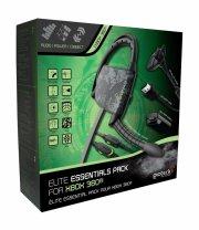microsoft xbox 360 - ekstraudstyr / tilbehørspakke - gioteck - Konsoller Og Tilbehør