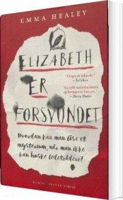 elizabeth er forsvundet - bog