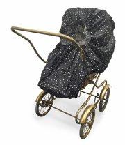 elodie details regnslag til barnevogn og klapvogn - prikker - Babyudstyr