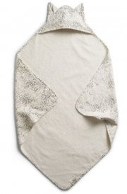 elodie details babyhåndklæde med hætte - dots of fauna kitty - Babyudstyr