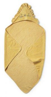 elodie details babyhåndklæde med hætte - gul - Babyudstyr