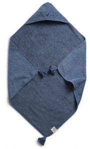 elodie details babyhåndklæde med hætte - tender blue - Babyudstyr