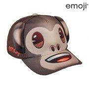 emoji abe børnekasket med ører - 55 cm. - Diverse