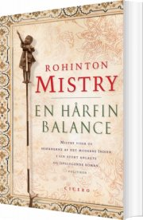 en hårfin balance - bog