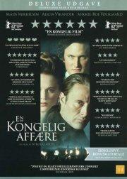 en kongelig affære - deluxe udgave med dvd + blu-ray - DVD